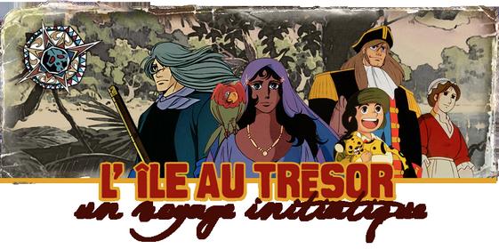 Dessin animé île au trésor